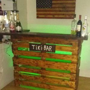 Tiki Bar, Pallet Bar, Pool bar Pallet Furniture